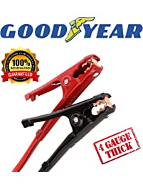 Goodyear GY1069 \ Heavy Duty Jumper Cables \ 16 Feet Long \ 4 Gauge Thick \ Emergency Booster \ Carry Case Included...