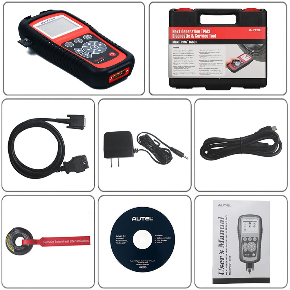 Autel MaxiTPMS TS601 Wirelessly Diagnosing TPMS Reprogramming Activation Relearn Tool With Basic OBDII Code Reader Function by Autel (Image #4)