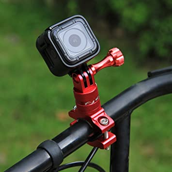 360 Degree Bicycle Handlebar Light Bracket Rotation Bike Black Mount 2018 Nice