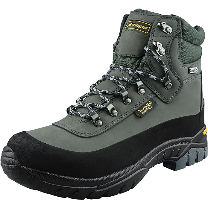 31ebed2f1c6 HANAGAL Men's Tangula Waterproof Hiking Boots, Vibram Soles