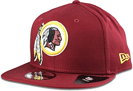 Image Unavailable. Image not available for. Color  New Era Washington  Redskins Hat NFL Burgundy 9FIFTY Snapback Adjustable ... 8e17af62f6d6