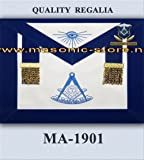 Past Master Apron Royal Blue