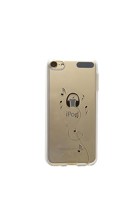 3 opinioni per NOVAGO Custodia del gel di silicone trasparente per iPod Touch 5 ( Cuffia )