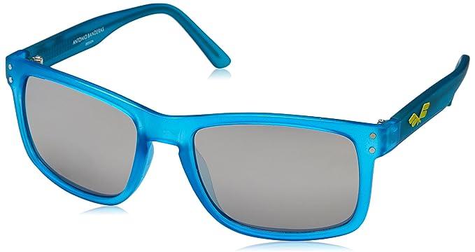 Starlite Universe Gafas de Sol Flag Antonio Banderas, Azul, Carey, 60 para Hombre