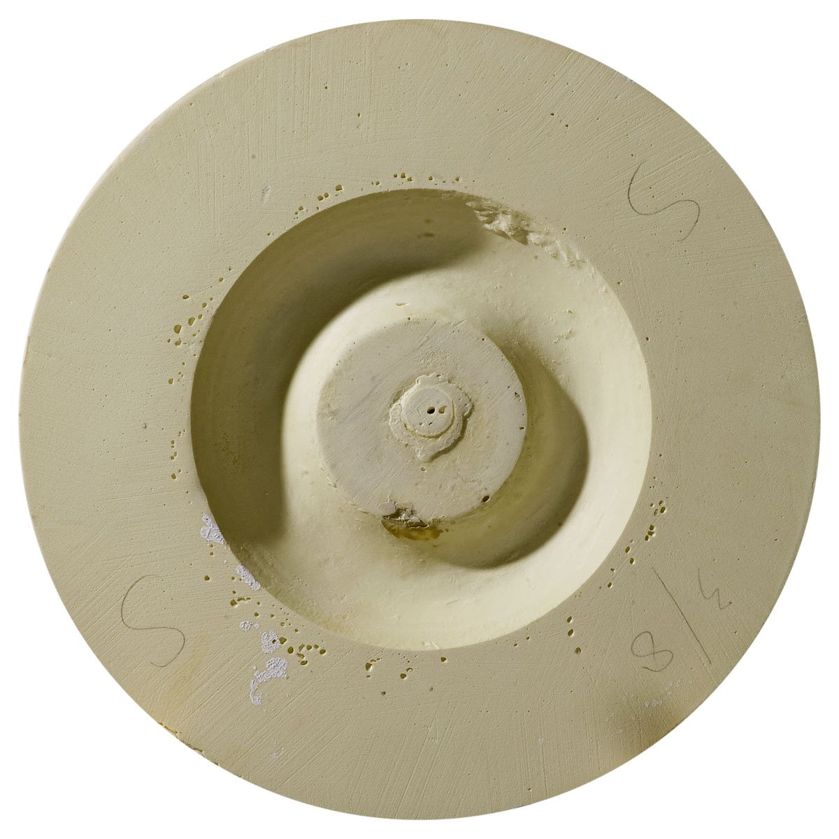 Ekena Millwork CM14TR2-03500 14 3/4OD x 3 1/2ID x 1 3/4P Traditional Ceiling Medallion, Fits Canopies up to 4, 2 Piece Fits Canopies up to 4