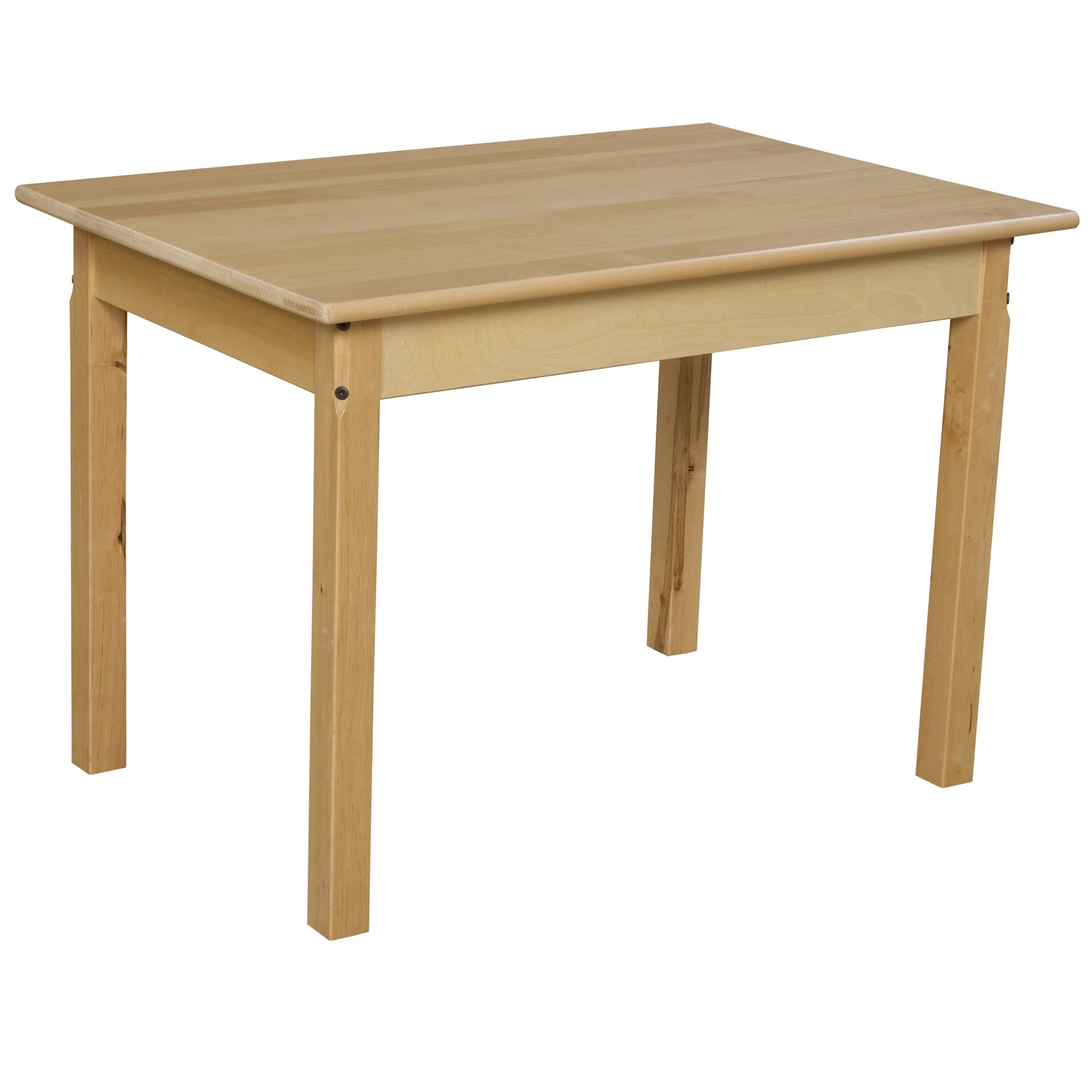 Wood Designs WD82322 Child's Table, 24'' x 36'' Rectangle with 22'' Legs