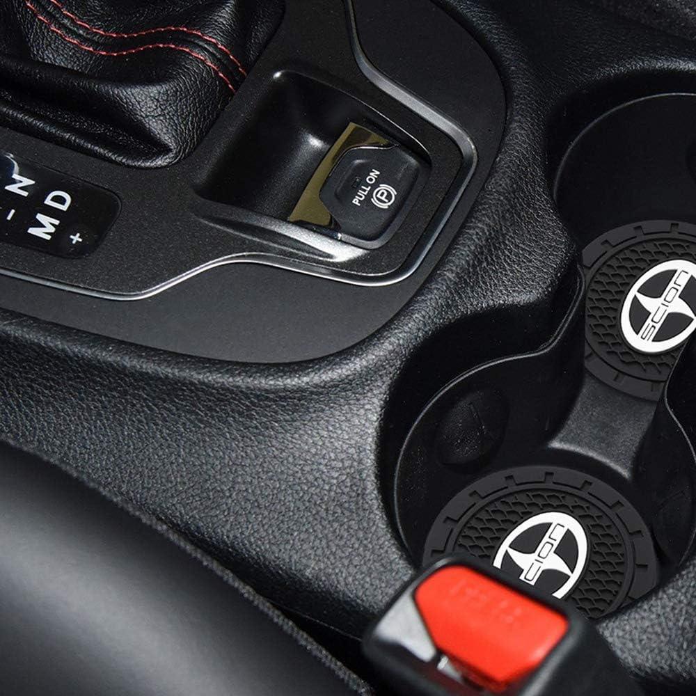 Set of 2, 2.75 Diameter AOOOOP Car Interior Accessories for Audi Cup Holder Insert Coaster Silicone Anti Slip Cup Mat for Audi A3 S3 RS3 A4 S4 A5 S5 RS5 A6 S6 A7 S7 RS7 A8 Q3 Q5 SQ5 Q7 Q8