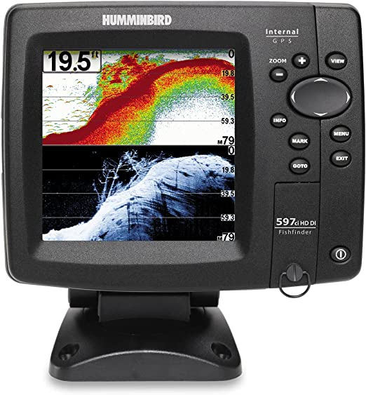 Humminbird Fishfinder 597ci Hd Di Combo Down Imaging Elektronik