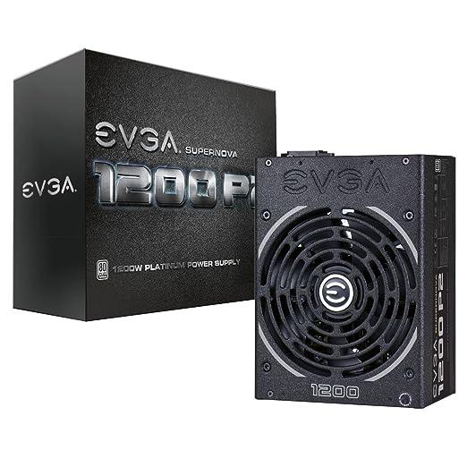 6 opinioni per EVGA SuperNOVA 1200 P2 1200W Black power supply unit- power supply units (1200