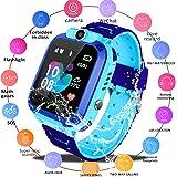 Amazon.com: Waterproof Kids GPS Tracker Watch - [Free SIM ...