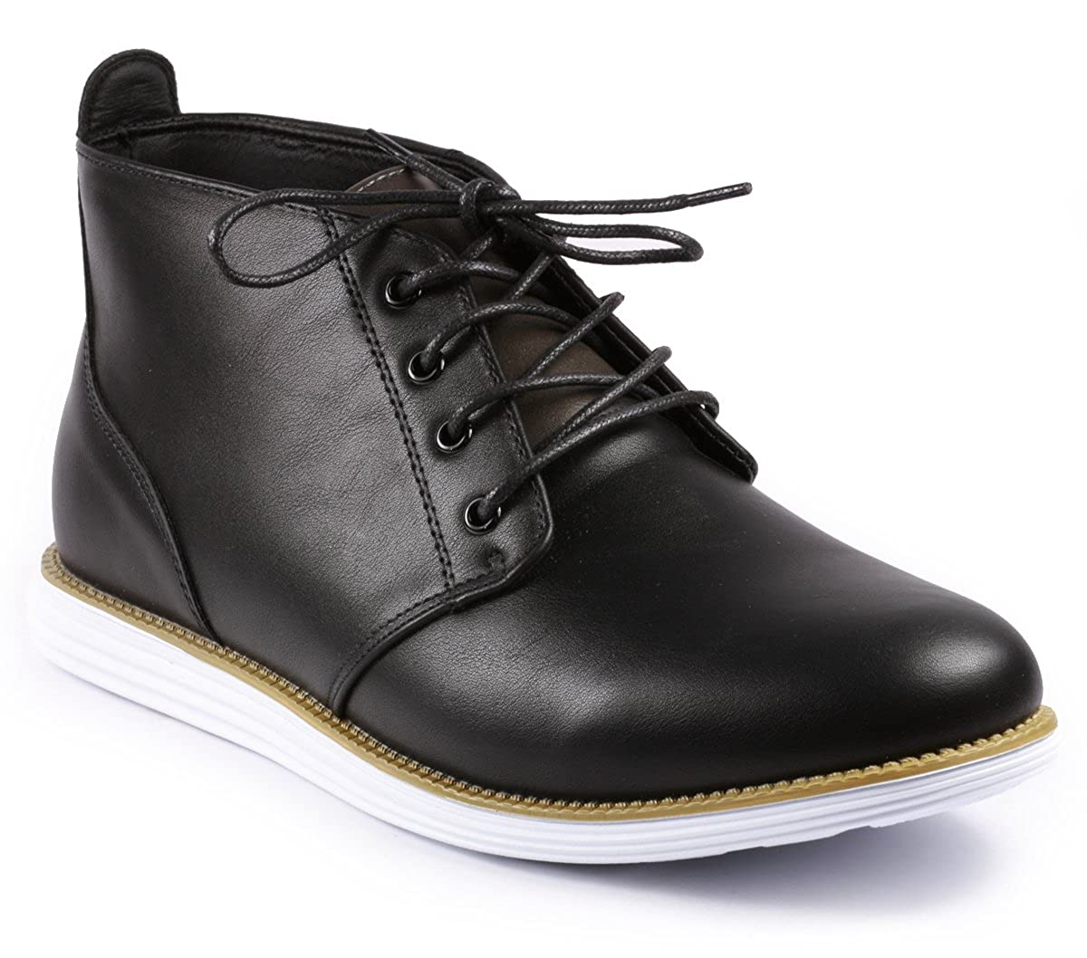 Amazon.com | Metrocharm BM2025 Mens Casual Chukka Mid-Top Sneaker Boots |  Chukka