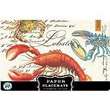 Michel Design Works Placemats, Lobster, 25-Sheet