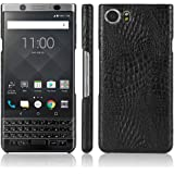 Zshion for BlackBerry Keyone Case,Croco Premium PU Leather Protective Cases Simple Deurable and Lightweight Case for BlackBer