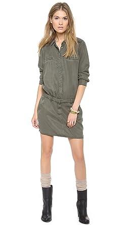 cbbc3fb0262 Etienne Marcel EM7103 Military Long Sleeve Tunic Dress - Green -:  Amazon.co.uk: Clothing
