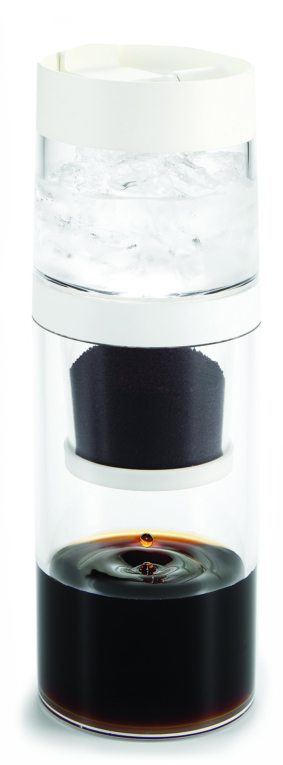 gosh! 10-Ounce Dripo Cold-Brew Coffee Maker, Clear by gosh!
