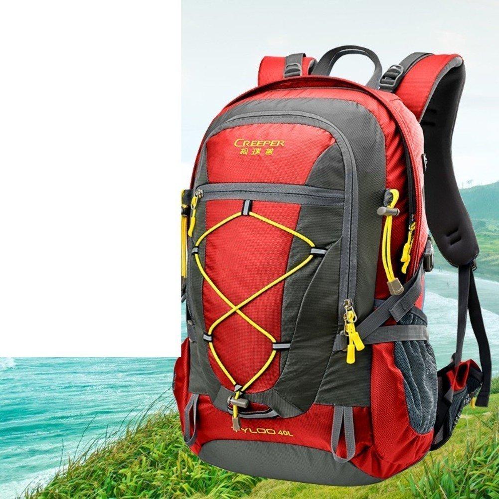 Sincere® Paquete / Mochilas / portátil / / / montañismo ultraligero al aire libre mochila / Viajes / montar ultraligero 40L mochila-roja 4257aa