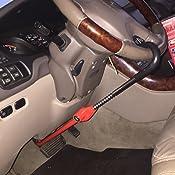 Amazon.com: Cepo para volante The Club CL303, pedal a ...