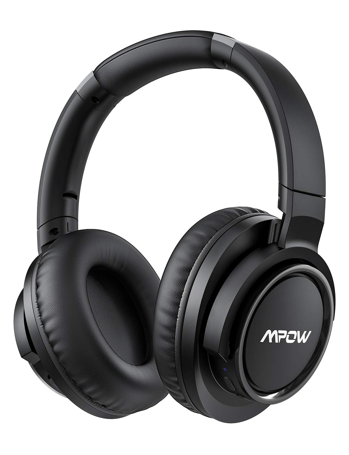 Mpow (Series II) Active Noise Cancelling Headphones, 50 Hours Playtime with Hi-Fi Deep Bass, ANC Over Ear Bluetooth Headphones with Mic, Foldable Wireless Headset for Travel Work TV Cell Phone/PC