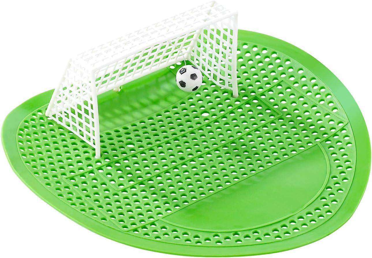 Pearl Urinario cribas: Diseño de Mariquita-balón de fútbol de urinario de Colador (Artículo de Broma PISSOIR 5999): Amazon.es: Juguetes y juegos