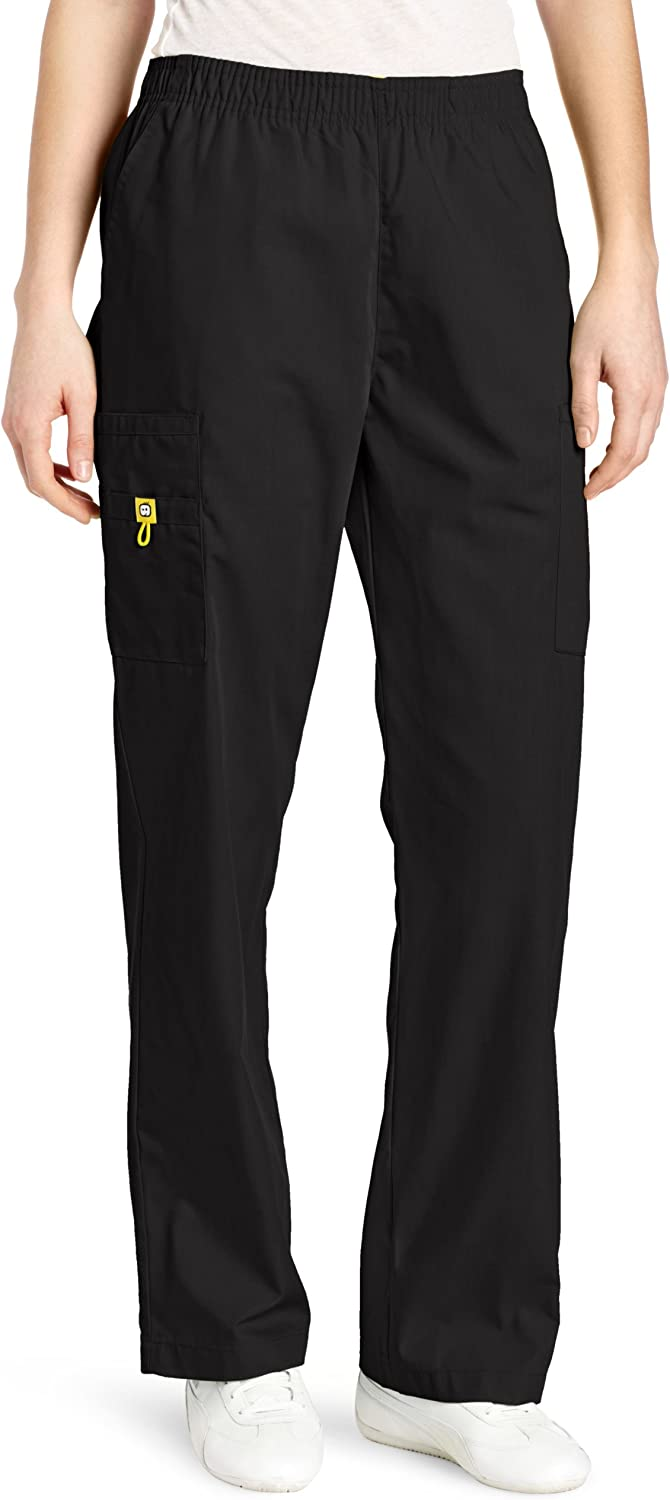WonderWink Women's Scrubs Quebec Full Elastic Cargo Pant