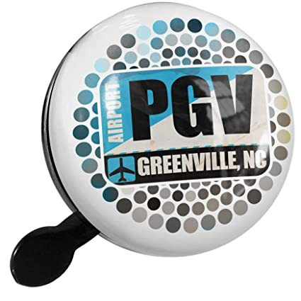 Amazon.com : NEONBLOND Bike Bell Airportcode PGV Greenville ...