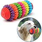 Toy for Dogs - Dental Treat, Bite Resistant, Indestructible Non-Toxic Strong Tooth Cleaning Dog Toy Balls for Pet Training