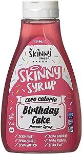 Skinny Food Zero Calorie Skinny Syrup- Birthday Cake (425ml)