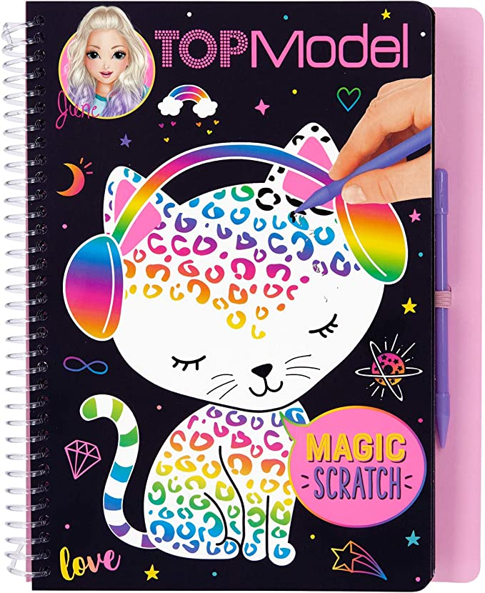 Top Model Magic-Scratch Topmodel Magicscratch Book (0010707 ...