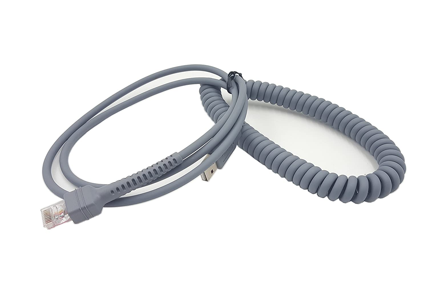 Ls2208 Usb Cable Schematic Sinloon Symbol A To Rj45 Coiled Spiral Extension Motorola Barcode Scanner Ls2208ap Ls1203 Ls4208 Ls4278