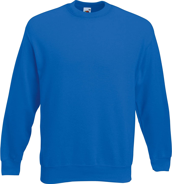 Fruit of the Loom Classic Sweatshirt Set-In Sweat