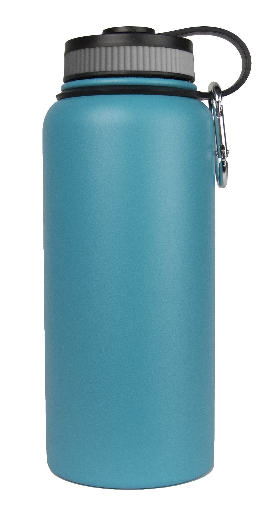 Sarge Knives WB-32T 32 oz Stainless Steel Teal Wave Bottle