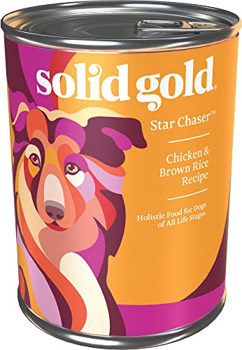 Solid Gold – Star Chaser – Chicken, Brown Rice With Vegetables – Natural Whole Grains – Holistic – Potato Free – Dog Food for All Life Stages