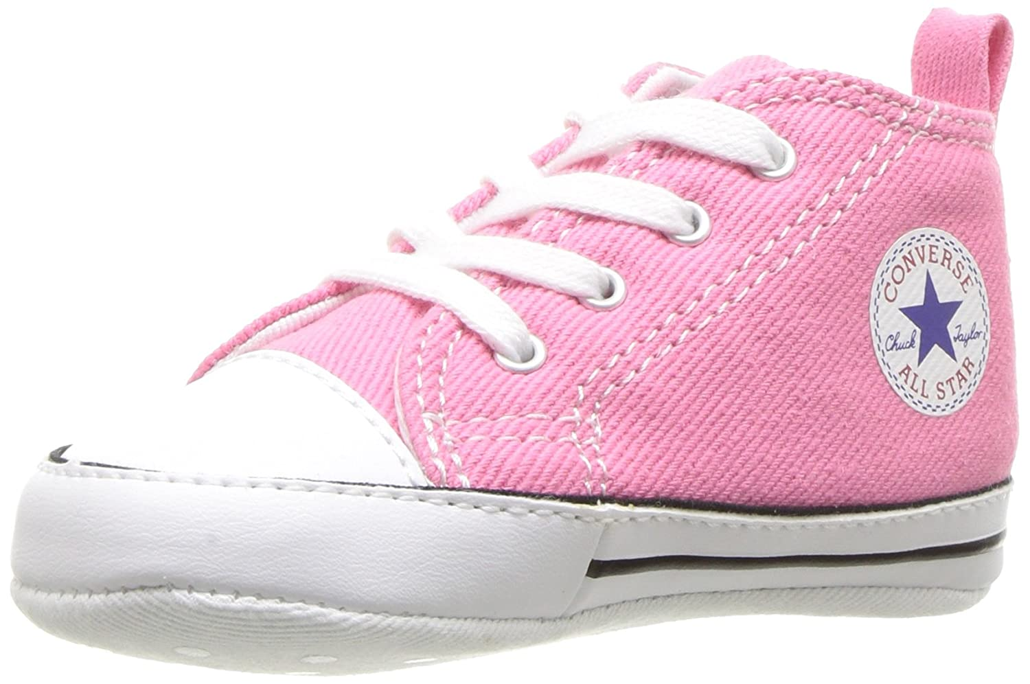 Converse Chucks FIRST STAR HI  19 EU|Pink Canvas