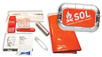Amazon.com  S.O.L. Survive Outdoors Longer Traverse Survival Kit ... ca2c328d25