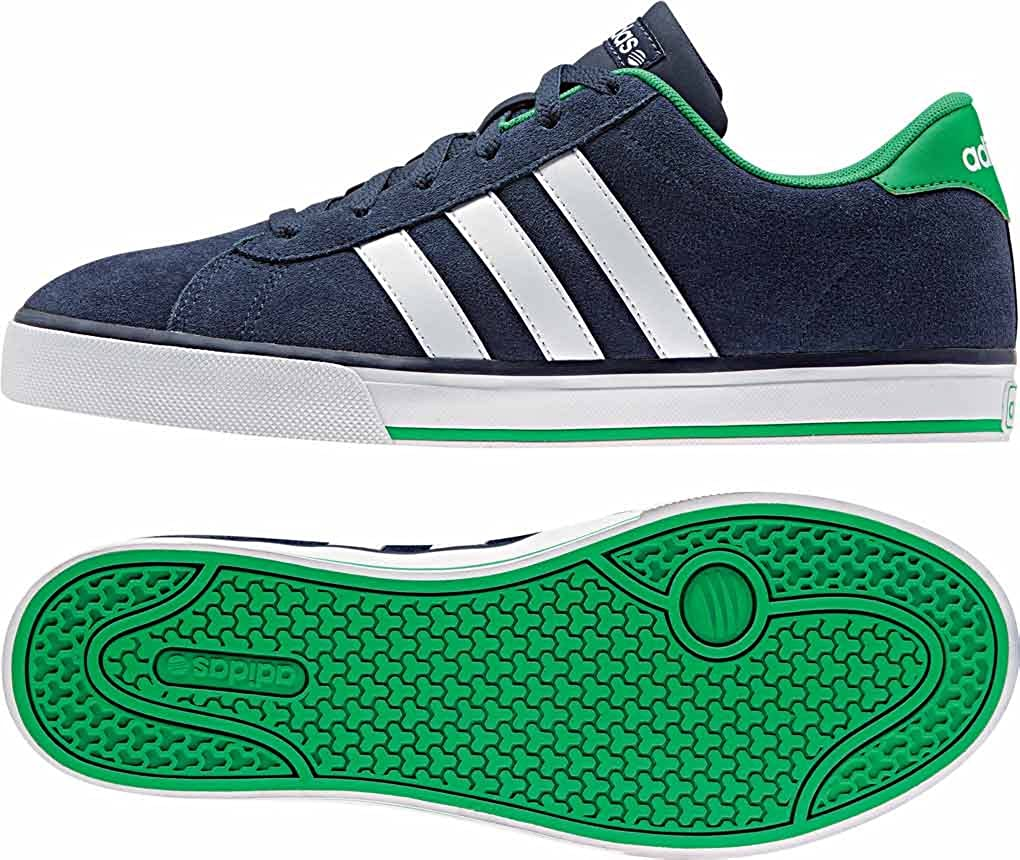 adidas Daily - Zapatillas para Hombre, Color Azul Marino/Blanco ...