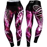 Anarchy Apparel Leggings Pink Quantum, Fitness Pants, Hosen, Running