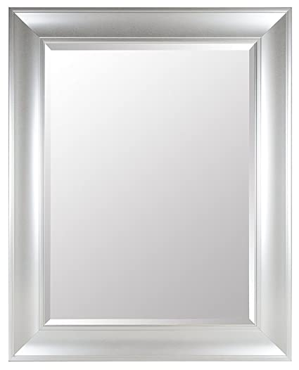 Amazon.com: Gallery Perfect Large 39X49 Beveled Mirror with 5 Inch ...
