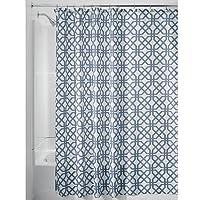 InterDesign Rideau de Douche Treillis 180 x 200 cm