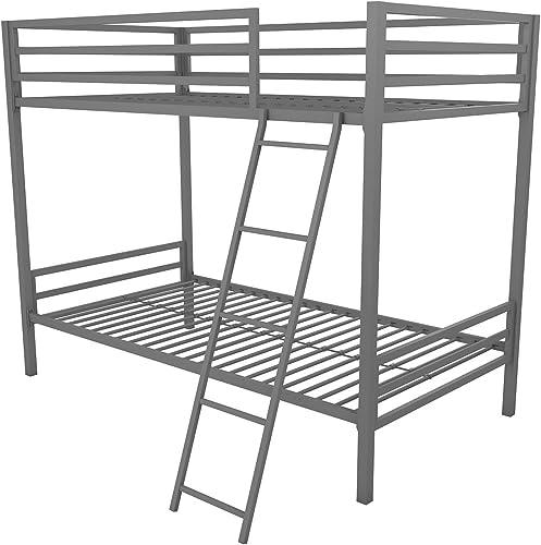 Novogratz Maxwell Twin Twin Metal Bunk Bed