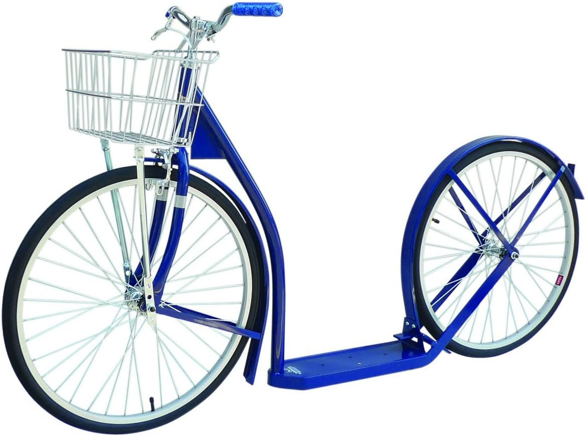 Amish-Made Deluxe Kick Scooter Bike – 24 Wheel Adult Size