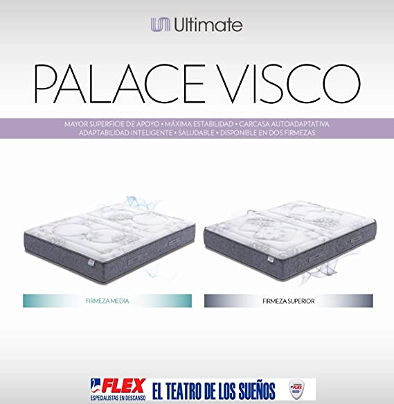 Flex Palace Visco Firmeza Superior Colchón Palace Visco Firmeza Superior, 150 X 190 Cm