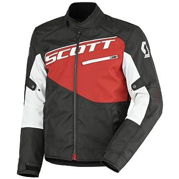 Scott Sport 2 DP Moto Chaqueta Negro/Rojo 2016