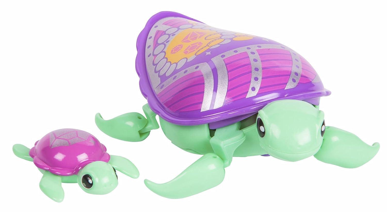 Little Live Pets Tartaruga Molona con il bebé (famosa) Jules 700014400