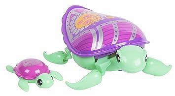 Little Live Pets - Tortuga molona con su bebé Jules (Famosa 700014400)