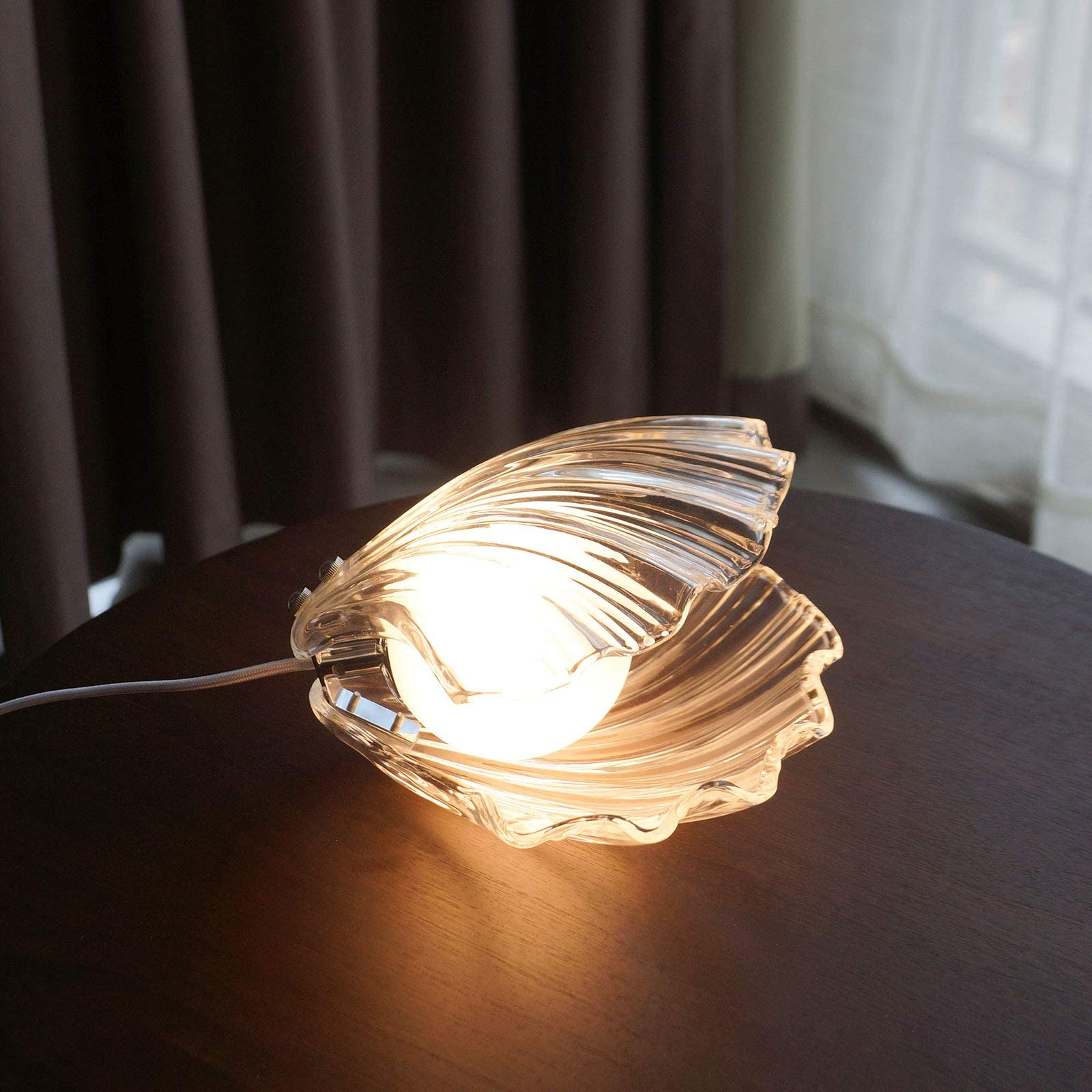 Deals on SAMGREEN LED Mood Light Shell Pearl Night Light Lamp