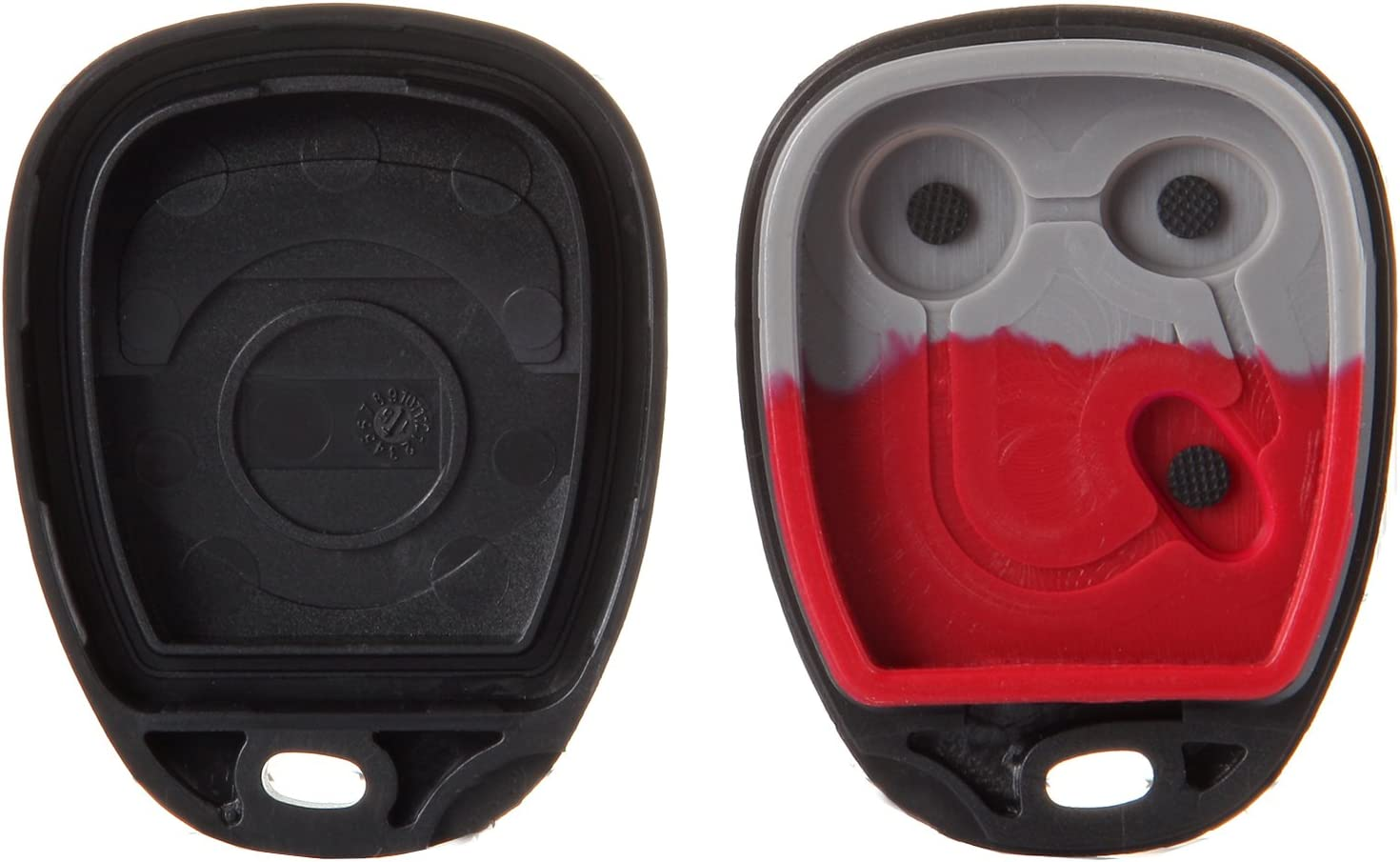Saturn Vue LHJ011 Pontiac Torrent Hummer H2 Chevrolet Series Cadillac Escalade cciyu 1PC 3 Buttons Keyless Entry Remote Fob Case Replacement fit for Buick Rainier