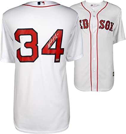 a677e7172 David Ortiz Boston Red Sox Autographed Home Majestic Replica Jersey -  Fanatics Authentic Certified - Autographed