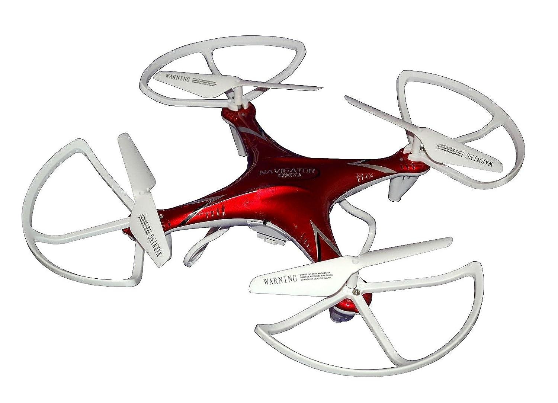 169 V Navegador Rojo 2,4 GHz dron Quadcopter cuadricóptero quadrko ...