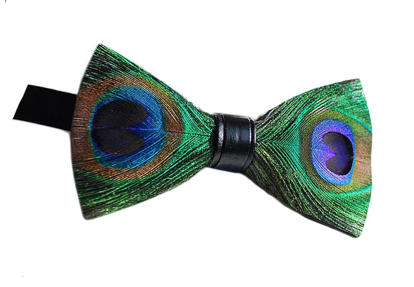 Cloud Rack Handmade Feather Bow Tie