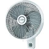 Lasko 16 in. 3-Speed Oscillating Wallmount Fan with Remote Control